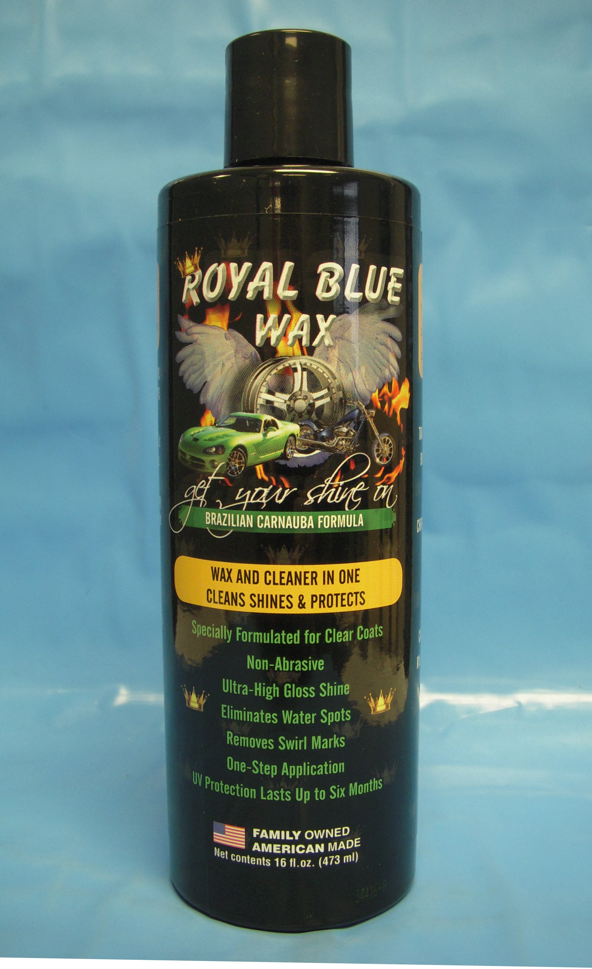 Royal blue wax reviews